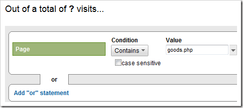 Create Segements in Google Analytics